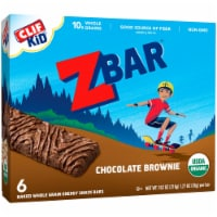 Clif Kid Zbar Organic Chocolate Brownie Snack Bars