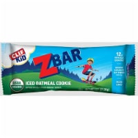 Clif Kid ZBar Iced Oatmeal Cookie Snacks Bar, 1.27 Ounce - 18 per pack -- 9 packs per case.