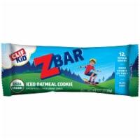 Clif Kid Zbar Iced Oatmeal Cookie Organic Granola Bars - 1.27 oz