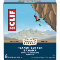 Clif Bar Peanut Butter Banana with Dark Chocolate Energy Bars