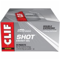 Clif Shot During Athlete Series Double Expresso Energy Gel Packets
