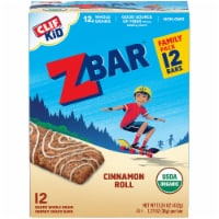 Clif Kid Z Bar Cinnamon Roll Energy Snack Bars