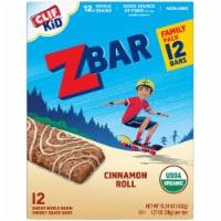 Clif Kid Z Bar® Cinnamon Roll Energy Snack Bars - 12 ct / 1.27 oz