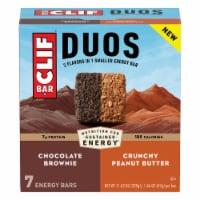 Clif Bar Duos Chocolate Brownie + Crunchy Peanut Butter Energy Bar