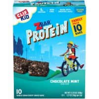 Clif Kid ZBar Protein Chocolate Mint Snack Bars