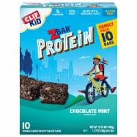 Clif Kid ZBar Protein Chocolate Mint Snack Bars - 10 ct / 1.27 oz