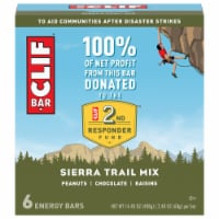 Clif Sierra Trail Mix Energy Bars 6 Count