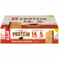 Clif Peanut Butter and Chocolate Whey Protein Bars