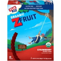 Clif Kid Organic ZFruit Strawberry Twisted Fruit Snack 18 Count
