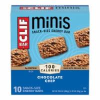 Clif Bar Chocolate Chip Mini Snack Bars - 10 ct / 0.99 oz