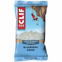 Clif Blueberry Crisp Snack Bar, 2.4 Ounce -- 192 per case.