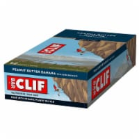 Clif Bar Peanut Butter Banana with Dark Chocolate, 2.4 Ounce -- 192 per case.