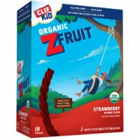 Clif Kid Organic Zfruit Strawberry Snack Bar, 0.7 Ounce -- 216 per case.