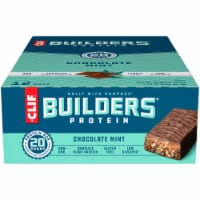 Clif Builders Chocolate Mint Protein Bars 12 Count