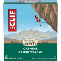 Clif Oatmeal Raisin Walnut Energy Bars 6 Count