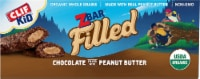 Clif Kid Organic Zbar Filled Chocolate Filled with Peanut Butter Baked Energy Snack Bars