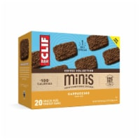 Clif Bar Coffee Collection Cappuccino Mini Energy Bars