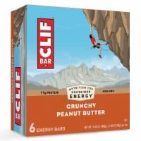 Clif Crunchy Peanut Butter Energy Bar, 2.4 Ounce -- 54 per case.