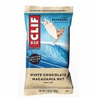 Clif White Chocolate Macadamia Nut Energy Bar, 2.4 Ounce -- 54 per case.