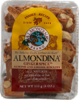 Almondina Biscuits Almond and Ginger