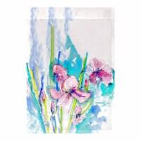 Betsy Drake FL1017 12.5 x 18 in. Pink Iris Flag - 1