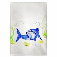 Betsy Drake GT741 Betsys Catfish Guest Towel
