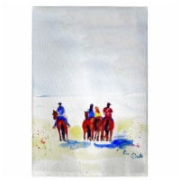Betsy Drake GT892 Beach Riders Guest Towel