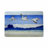 Betsy Drake DM1076 18 x 26 in. Skimming the Surf Door Mat - 1