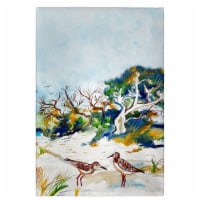 Betsy Drake GT487 Trees & Beach Guest Towel