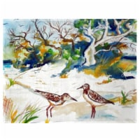 Betsy Drake PM487 Trees & Beach Place Mat - Set of 4 - 1
