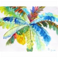Betsy Drake PM1094 Big Palms Place Mat - Set of 4 - 1
