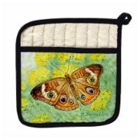 Betsy Drake PT763 Buckeye Butterfly Pot Holder