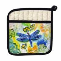 Betsy Drake PT817 Dragonflys Garden Pot Holder - 1