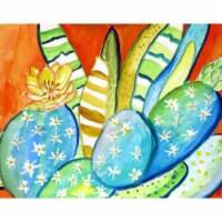 Betsy Drake DM1114G 30 x 50 in. Cactus III Door Mat