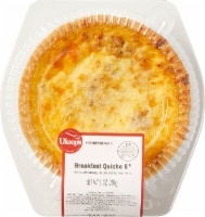 Ukrop's 6-Inch Sausage Bacon and Sauteed Onion Quiche