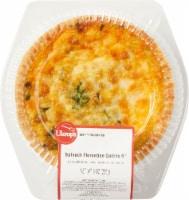 Ukrop's 6-Inch Spinach Florentine Quiche