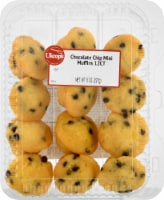 Ukrop's Mini Chocolate Chip Muffins 12 Count - 8 oz