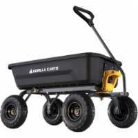 Gorilla Carts 4 Cu. Ft. 600 Lb. Poly Garden Cart GCG-4 - 1
