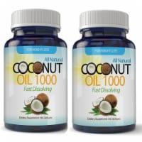Organic Virgin Coconut Oil  (120 Softgels) - 1 unit