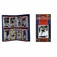 C & I Collectables 2010BLUESTS NHL St. Louis Blues Licensed 2010 Score Team Set and Storage A - 1