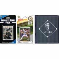 C & I Collectables 2011ASTSC MLB Oakland Athletics Licensed 2011 Topps Team Set and Favorite