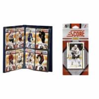C & I Collectables 2011STARSTS NHL Dallas Stars Licensed 2011 Score Team Set and Storage Albu