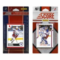 C & I Collectables NYR2TS NHL New York Rangers Licensed Score 2 Team Sets