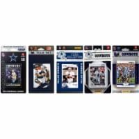 C & I Collectables COWBOYS512TS NFL Dallas Cowboys 5 Different Licensed Trading Card Team Set - 1