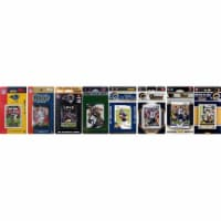CandICollectables RAMS813TS NFL St. Louis Rams 8 Different Licensed Trading Card Team Sets - 1