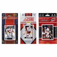 CandICollectables HURRICANES313TS NHL Carolina Hurricanes 3 Different Licensed Trading Card T