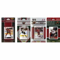 CandICollectables WILD413TS NHL Minnesota Wild 4 Different Licensed Trading Card Team Sets - 1