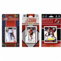 CandICollectables DEVILS313TS NHL New Jersey Devils 3 Different Licensed Trading Card Team Se