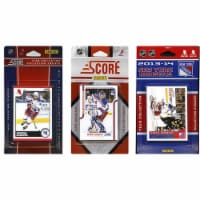 CandICollectables NYRANGERS313TS NHL New York Rangers 3 Different Licensed Trading Card Team
