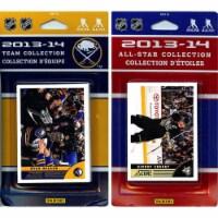 CandICollectables SABRES13 NHL Buffalo Sabres Licensed 2013-14 Score Team Set & All-Star Set